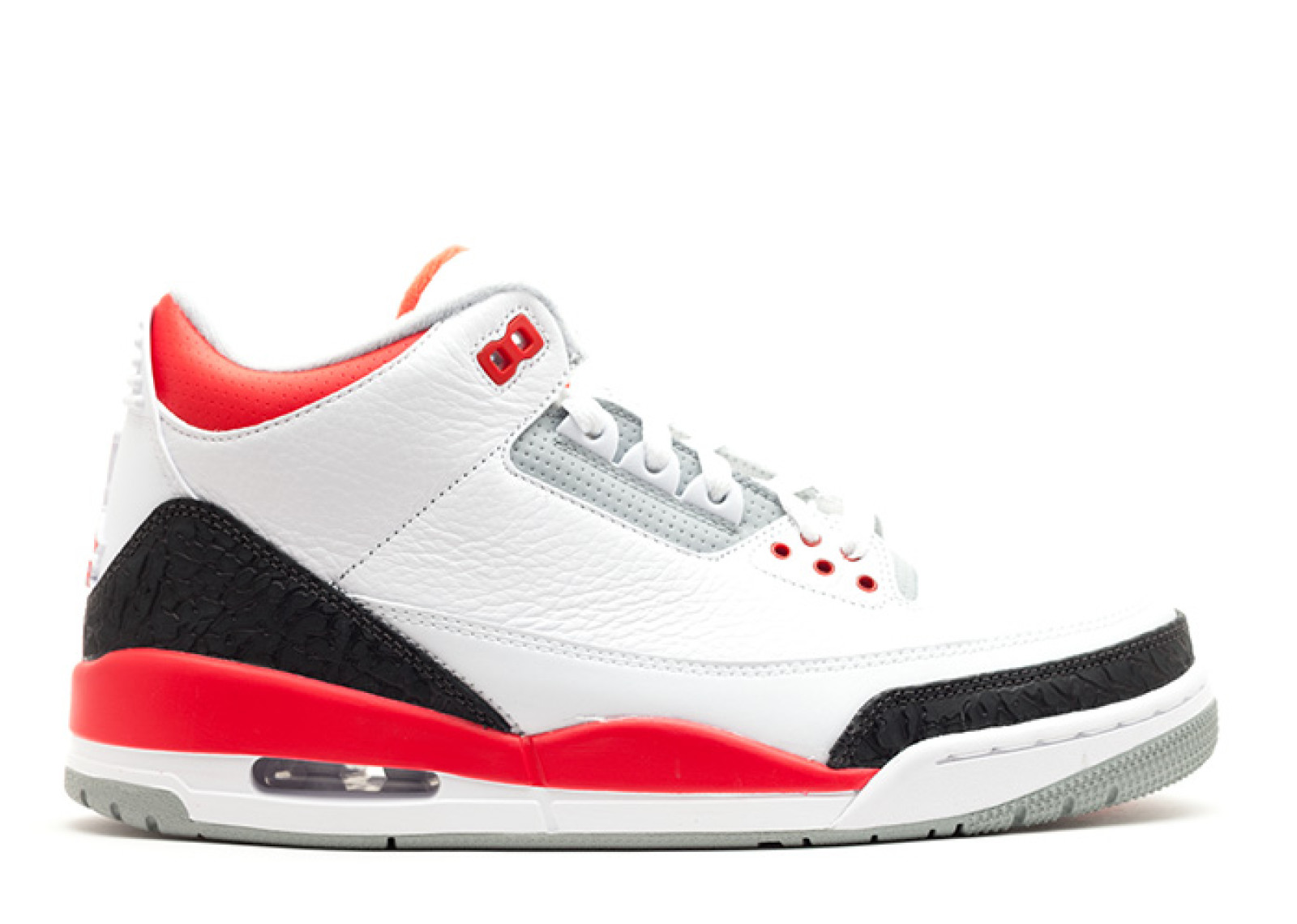jordan 3 red and black